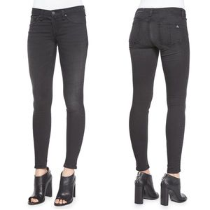Rag & Bone The Legging Black Skinny Jeans